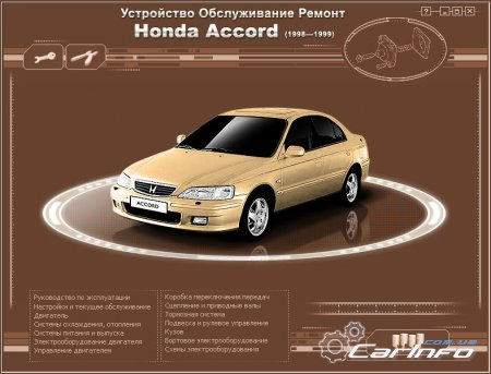 Honda Accord с 1998 - 1999