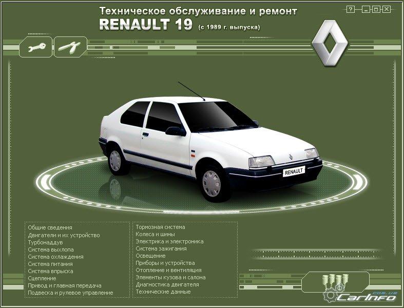 Renault 19 с 1989