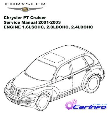 Chrysler PT Cruiser Service Manual 2001-2003