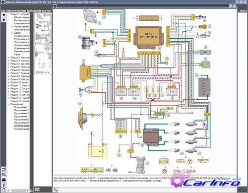 ВАЗ 2115i -14i -13i Мультимедийное руководство по ремонту