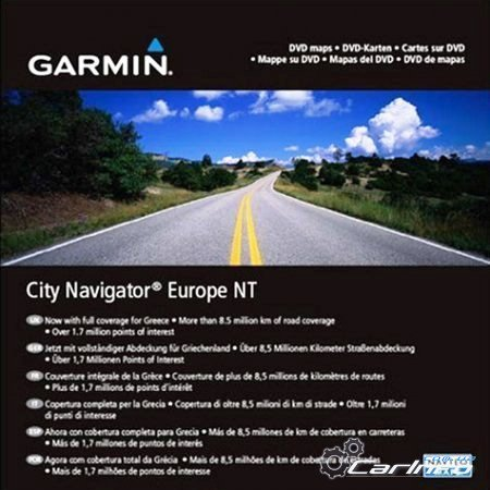Garmin City Navigator Europe NTU (Unicode) 2015.30