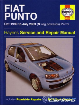 FIAT PUNTO 1999-2006  Haynes Service and Repair Manual