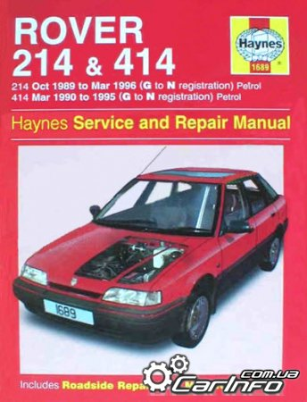 Rover 214 & 414 1989-1996 Haynes Service and Repair Manual