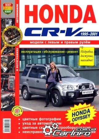 HONDA CR-V 1995-2001 Цветное
