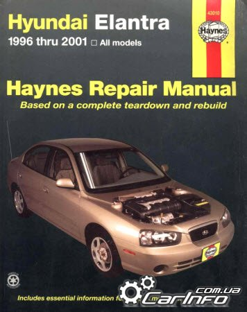 Hyundai Elantra 1996-2001 Haynes Repair Manual