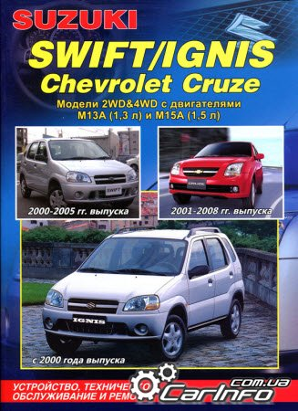 SUZUKI IGNIS с 2000 / SUZUKI SWIFT 2000-2005, CHEVROLET CRUZE 2001 ...