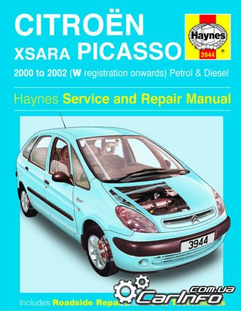 Citroen Xsara Picasso 2000-2002 Haynes Service and repair manual