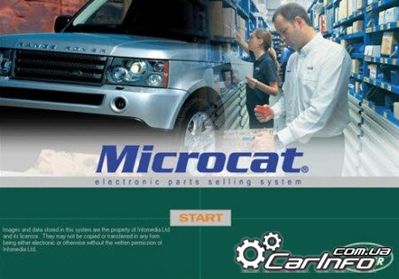 Land Rover Microcat 12.2014 каталог запчастей Ленд Ровер и Ренж Ровер