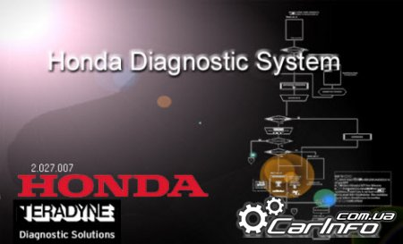 Honda Diagnostic System 2.027.007 + ECU Rewrite 6.27 + SPX MVCI 2.13.05