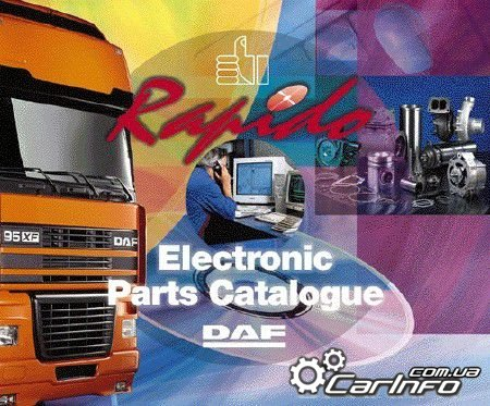 DAF Rapido 01.2015 (Electronic Parts Catalogue) каталог запчастей DAF