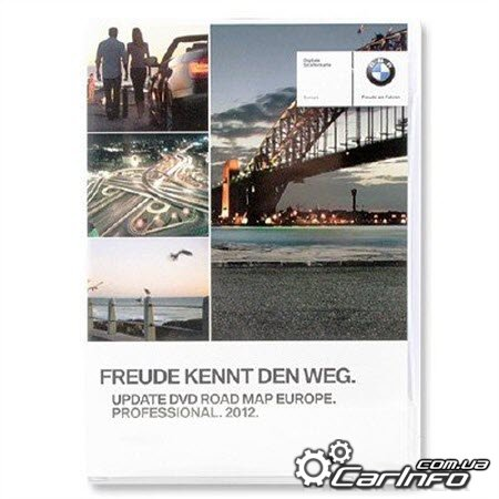 BMW GPS Navigation Update DVD3 2012 Europe Road MAP Professional Карты навигации для CCC
