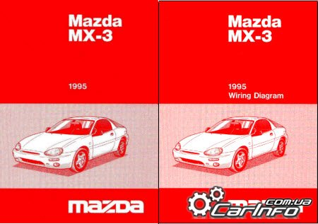 Mazda MX-3 1991–1998 Workshop Service Manuals + Wiring Diagram