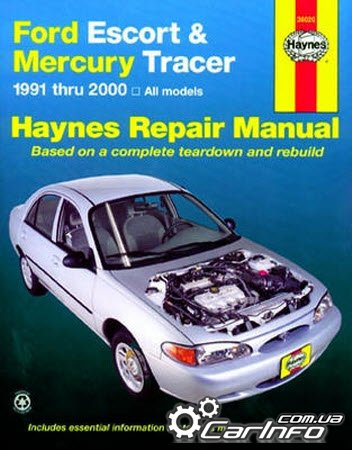 Ford Escort & Mercury Tracer, 1991-2002 (Haynes Repair Manual)