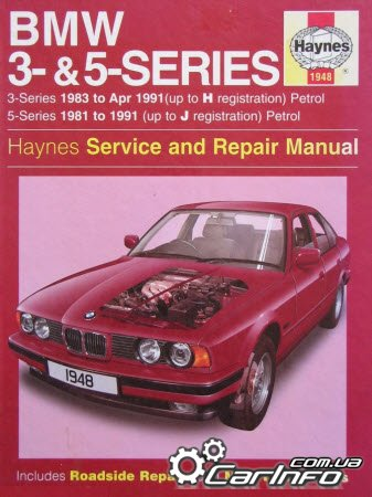 bmw 3 5 series 1981 1991 haynes service and repair. Black Bedroom Furniture Sets. Home Design Ideas
