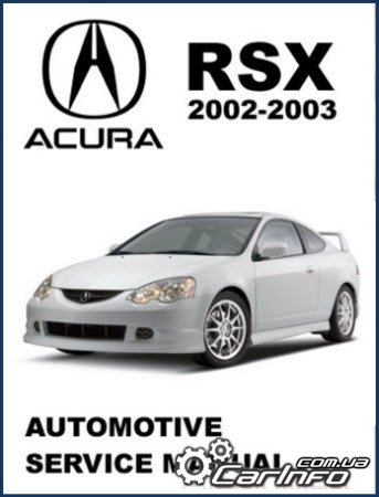 Acura RSX 2002-2003 Service Manual