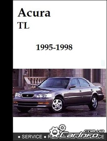 Acura 2.5TL 3.2TL 1995-1998 Service manual