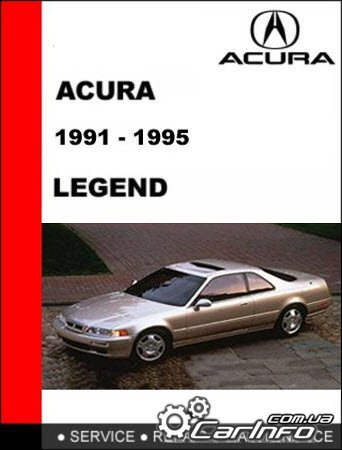 Acura Legend 1991-1995 Service and Repair Manual