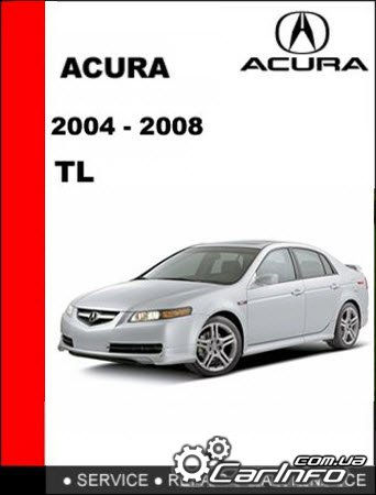 Acura TL 2004-2008 Service and Repair Manual