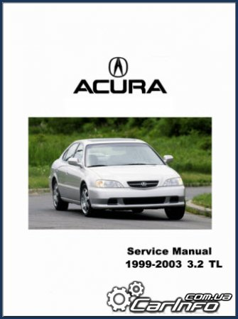 Acura TL 1999-2003 (Honda Inspire/Saber) кузова UA4-UA5 Service and Repair manual