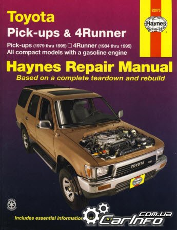 Toyota Pick-ups & 4Runner (1979-1995) Haynes Repair Manual