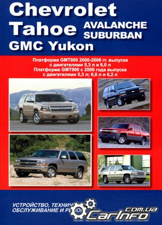 CHEVROLET TAHOE / AVALANCHE