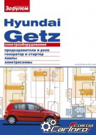 Руководство Электрооборудование Hyundai Getz содержит подробные цветные схемы электрооборудования модификаций...