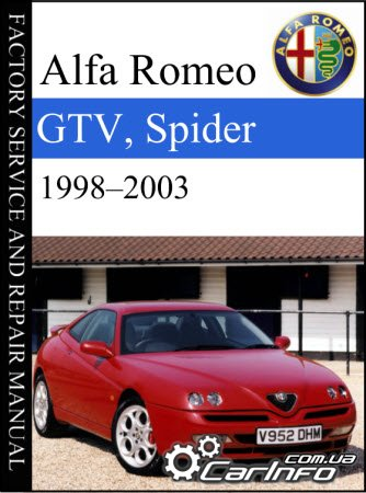 Alfa Romeo GTV, Spider (916)  1998–2003 Service Repair Manual