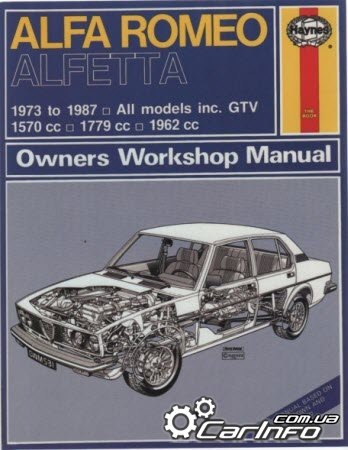 Alfa Romeo Alfetta 1973 to 1987 Haynes Owners Workshop Manual