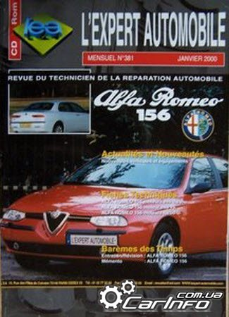 Alfa Romeo 156 L'expert automobile Service Repair Manual