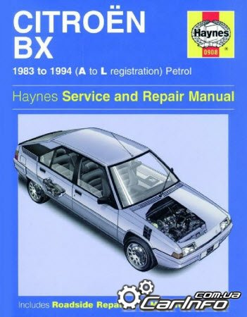 Citroen BX 1983-1994 Haynes Service and Repair Manual