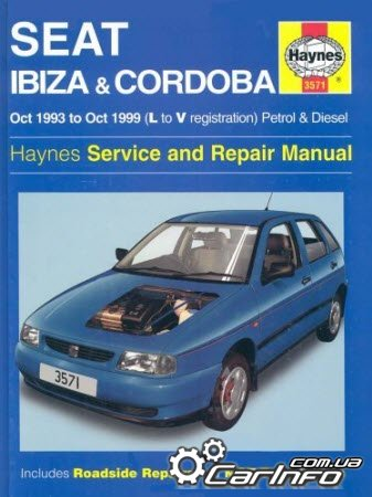 Seat Ibiza Oct 1993 to Oct 1999 (L to V reg) Petrol & Diesel Haynes Repair Manual