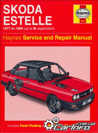 Skoda Estelle 1977-1989 Haynes Service Repair Manual