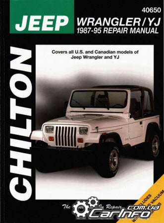 Jeep Wrangler YJ 1987-1995 Chilton Repair Manual