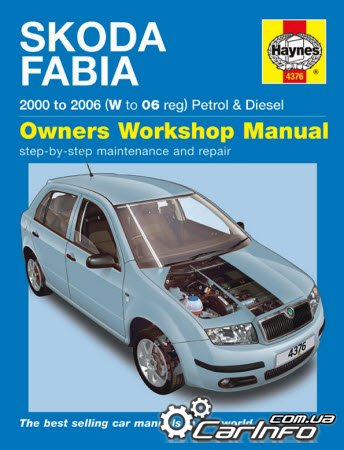 Skoda Fabia 2000 to 2006 Haynes Service and Repair Manual