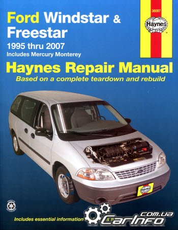 Ford Windstar and Freestar, Mercury Monterey  Haynes Service and Repair Manual
