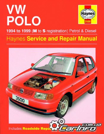 Volkswagen Polo 1994 - 1999 Haynes Service and Repair Manual