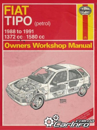 Fiat Tipo 1988 to 1991 Haynes Owners Workshop Manual
