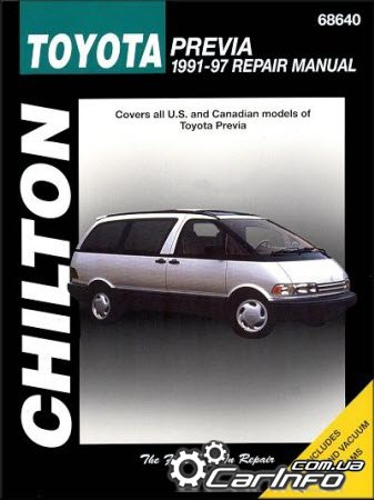 Toyota Tarago (Previa) 1991-1997 Chilton Repair Manual