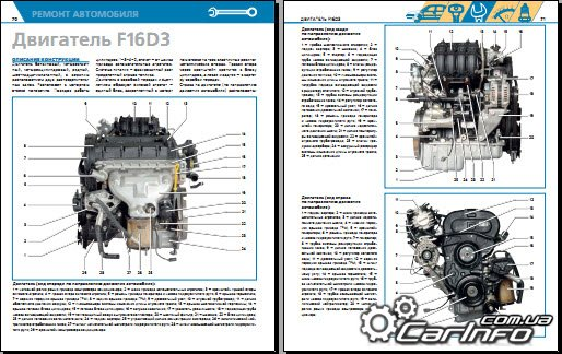 16 кл двигатель схема
