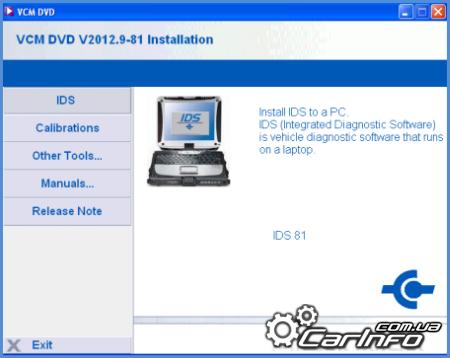 Ford IDS VCM 11.2014 v92.05