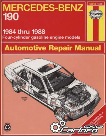 Mercedes-Benz 190 1984-1988 Haynes Repair Manual