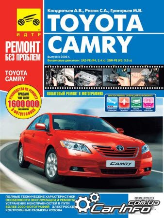 Toyota Camry V6 Инструкция