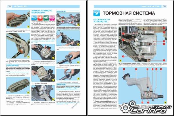 kia sportage iii пошаговый ремонт в фотографиях