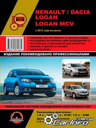 Книга ремонт и эксплуатация автомобиля рено логан pdf