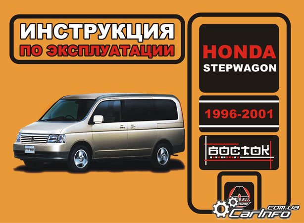 руководство honda accord wagon 1996 скачать