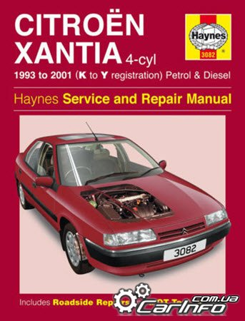 Citroen Xantia (1993-1998 K-S Registration) Haynes Service and Repair Manual