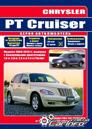 CHRYSLER PT CRUISER с 2000 Руководство по ремонту и эксплуатации