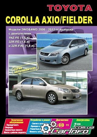 Toyota corolla fielder инструкция по эксплуатации скачать