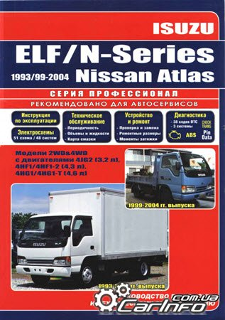 ������ ISUZU ELF, ������������ ISUZU ELF, ������������ NISSAN ATLAS