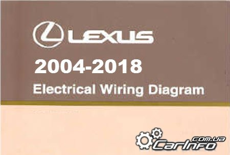 Lexus 2004-2018 Electrical Wiring Diagram, электросхемы автомобилей марки Lexus 2004-2018